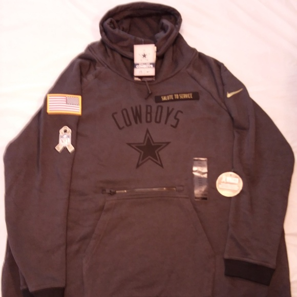 3538e034d Nike Dallas Cowboys Salute To Service Rally Hoodie
